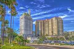 The Grande Dame of Long Beach Architecture (Michael F. Nyiri) Tags: longbeach california southerncalifornia villariviera architecture building clouds
