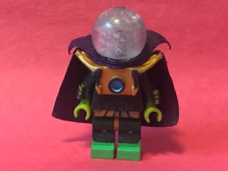 Lego Spider-Man: Mysterio Custom Figure