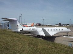 VP-CGN Gulfstream G650 TAG Aviation UK (Aircaft @ Gloucestershire Airport By James) Tags: luton airport vpcgn gulfstream g650 tag aviation uk bizjet eggw james lloyds