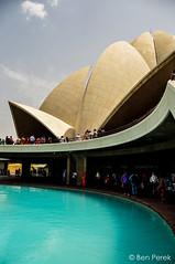 Delhi, Lotus Temple, India (Ben Perek Photography) Tags: asia india delhi capital city culture monument lotus temple