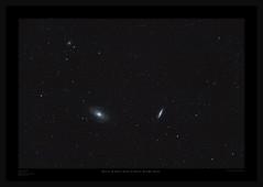 M81 & M82 (Myrialejean) Tags: m81 m82 messier galaxy bodes cigar sky astrophotography astronomy ngc3077 ngc3031 ngc3034 pixinsight celestron skywatcher 100ed cgem night astrometrydotnet:id=nova2667610 astrometrydotnet:status=solved