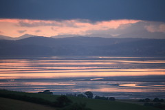 30in 72dpi 2T1A2112 (R W Gibbens Photo) Tags: morecambebay lancashire slyne lakedistrict view sandbanks mudflats lowtide evening sunset sigma100400