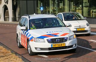 Dutch traffic police Volvo V70