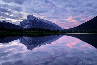 Sunrise at Vermilion Lakes