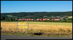 223 033 - Beulshausen (Bastian Weber) Tags: einbeck niedersachsen deutschland nordsüdstrecke nss nachtzug eisenbahn containerzug 101 223 beulshausen
