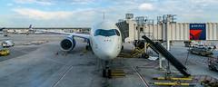 Delta A350 (DTW) (ruifo) Tags: nikon d810 sigma 20mm f14 dg hsm art mcnamara terminal detroit metropolitan airport dtw kdtw mi michigan us usa aviation aviacion aviación aviacao aviação plane airplane avion avión avião aviao aeronave aircraft spotting spotter airbus a350
