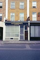 img236 (Gaelle Monin) Tags: islington leicar62 portra400 facade homedevelopment shopfront