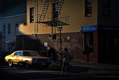 Chevrolet in Graham Avenue (Harry Szpilmann) Tags: williamsburg brooklyn streetphotography chevrolet people urban architecture nyc newyork usa light girl woman