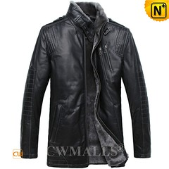 Prime Day 2018 | CWMALLS® Wellington Multifunctional Shearling Leather Jacket CW808058 [Custom Made] (cwmalls2018) Tags: men shearling leather jacket multifunctional 2in1jacket custommade fashion shopping primeday