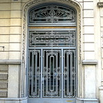 Metalwork door, Barcelona thumbnail