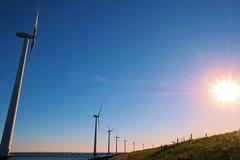 The future (Martin Wesselink) Tags: fujifilm xt20 fujifilmxt20 landscape windmills sunset holland netherlands colours sun
