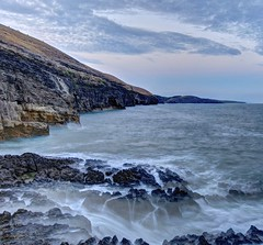 Faded love (pauldunn52) Tags: ogmore by sea deeps southerndown cliffs sunset long exposure glamorgan heritage coast wales