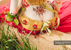 Роксолана - шарнирная кукла / Детали костюма (yana.kozlova.dolls) Tags: bjddolls dolls dollsbjd кукла dollstyle шарнирнаякукла collectiondoll handmade авторскаякукла кукларучнойработы handmadedoll roxolana dollart