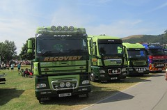 Ken Williams at Truckfest Malvern (Joshhowells27) Tags: lorry truck iveco man daf xf kenwilliams math recovery swansea