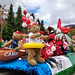 The Fairmont float at Whistler's Canada Day parade