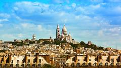 Collina del Sacro Cuore-Parigi (gianclaudio.curia) Tags: parigi francia chiesa