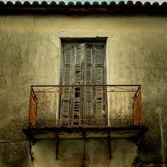 balcony (Nick Frantzeskakis) Tags: balcony old abandoned neakoroni messinia peloponnese