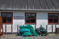 Dänemark, Fünen (dorothea knie) Tags: dänemark fünen harbour fenster window netz net