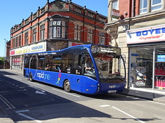 trent barton 850 Ripley (Guy Arab UF) Tags: trent barton 850 yj14bso optare versa v1170 bus nottingham road ripley derbyshire wellglade buses wellgladegroup