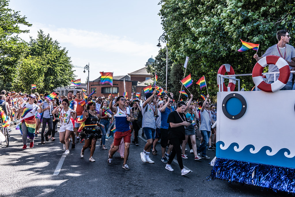 ABOUT SIXTY THOUSAND TOOK PART IN THE DUBLIN LGBTI+ PARADE TODAY[ SATURDAY 30 JUNE 2018] X-100165