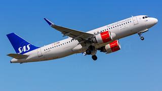 SAS Airbus A320-2Neo LN-RGM