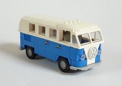 Volkswagen T1 Kombi (MOCs & Stuff) Tags: lego city town vw volkswagen t1 kombi bus transporter camper
