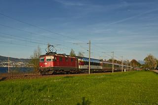 EC 164 Transalpin @ Horgen/Au ZH