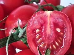 Refreshments (silvia07(very busy)) Tags: refreshments macromondays macro tomato cherrytomatoes pomodori ciliegino pomodorociliegino red