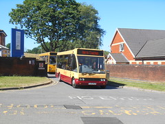Harris Coaches 10 (Welsh Bus 18) Tags: harriscoaches optare solo m780sl 10 yj05wcm ystradmynach tyrerbus utopiacoaches a7uto