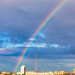 morning rainbow over Novosibirsk