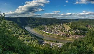 La Meuse,  Fumay, France