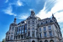 Antwerp, Belgium, Central Station (LuciaB) Tags: antwerp trainstation architecture louisdelacenserie belgium