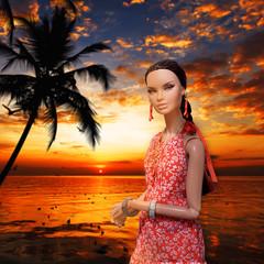 SUNSET (RockWan FR) Tags: erinsalston metamorphosis nuface fashionroyalty integritytoys sunset