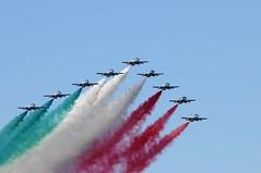 Frecce tricolori Palermo luglio 2018 (mariopresti) Tags: bandieraitaliana aerei cielo blu sky italy sicily tricolore italia sicilia palermo freccetricolori