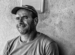 Smiling could always be a solution! (diego_russo) Tags: diegorusso maleportrait ritratto retrato blancoynegro blackandwhite biancoenero uomosardo sardinian smile sonrisa