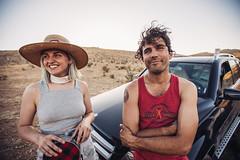 (JawshBeavz) Tags: moonrise 3 iii moon rise california ca festival music concert tour roadtrip desert camping party lights etc