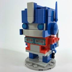 Optimus Prime BrickHeadz (Pellaeon) Tags: lego brickheadz cartoon