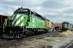 BN SD40-2 8048 (Chuck Zeiler) Tags: bn sd402 8048 railroad emd locomotive clyde train chuckzeiler chz