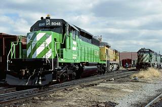 BN SD40-2 8048