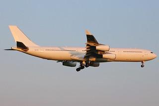 9H-FOX   Airbus A340-313   Hi Fly Malta (opf Norwegian)