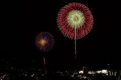 湯河原温泉海上花火大会 Fireworks Festival on The Sea of Yugawara-onsen (ELCAN KE-7A) Tags: 日本 japan 神奈川 kanagawa 湯河原 yugawara 海 sea 花火 fireworks ペンタックス pentax k3ii 2018