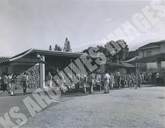 914- 5556 (Kamehameha Schools Archives) Tags: kamehameha archives ksg ksb ks oahu kapalama luryier pop diamond 1955 1956 lei day