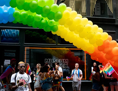 The March (vpickering) Tags: 2018 balloons newyorkcity themarch pride ny nyc newyork pridemarch balloon