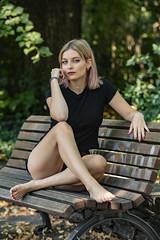Liza (juergenberlin) Tags: portrait sexy eyes woman summer girl berlin city fashion