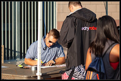 Saturday morning swimmer check-in (K-Szok-Photography) Tags: southerncaliforniaswimming competitiveswimming swimming swimmer swimmers swim swimmeet watersports circlecityaquatics ccaq socal california canon canondslr kenszok kszokphotography volunteers canon50d 50d