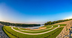 500px Photo ID: 76827311 (kasparssilins) Tags: canon6d kgee latvia summer garden grass longexposure nature night panorama panoramic river shot skys stars stick stones wood