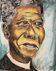 Nelson (Leroy Brown Art) Tags: nelsonmandela mandela