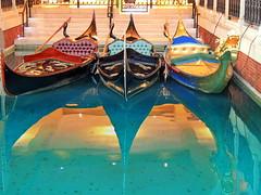 Dragon gondola (markb120) Tags: reflection repulse reflexion image mirror reflex dragon gondola water boat skiff pleasureboat wherry shallop