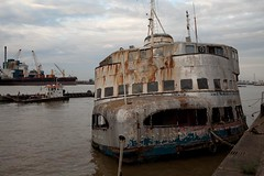The Royal Iris, Woolwich 200718 1 (kevertonphoto) Tags: beatles thames mersey ferry royaliris woolwich