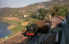 CP 294-Ferradosa-18 APRIL-1973-1600-Pocinho to Regua (filhodaCP) Tags: comboiosdeportugal comboioavapor cp linhadodouro steamlocomotive máquinaavapor vapor douro